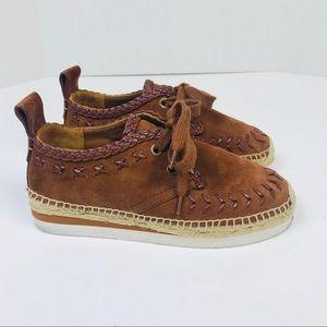 dc3317552a See By Chloe Shoes - See by Chloe Glyn Suede Platform Sneaker 7